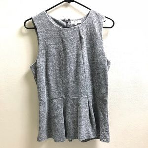 Madewell Top Sleeveless Size M Black White